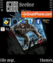 Скриншот темы Verwolf