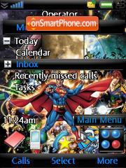 Superman & Fwends theme screenshot