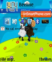 Ovechki theme screenshot