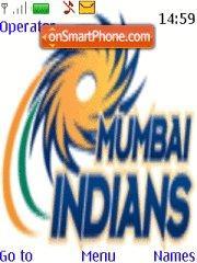 Mumbai Indians theme screenshot