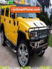 Hummer H2 theme screenshot