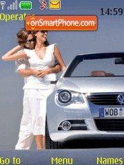 Volkswagen Eos theme screenshot