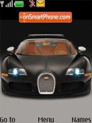 Bugatti Veyron V1 tema screenshot