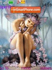 Flower Fairy 01 es el tema de pantalla