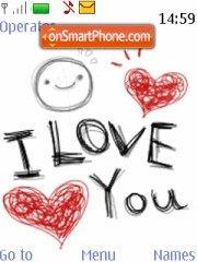 Love You 01 theme screenshot