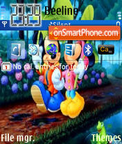 Mikey Mouse es el tema de pantalla