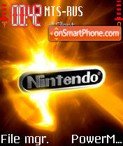 Nintendo 01 theme screenshot