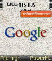 Google.com 01 theme screenshot