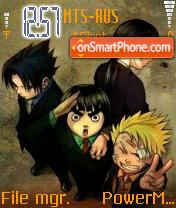 Naruto 20 theme screenshot