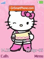 Hello Kitty 21 theme screenshot