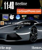 Скриншот темы Ferrari2
