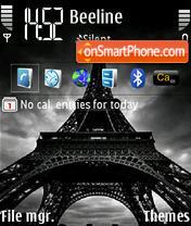 Eiffel Tower 01 theme screenshot