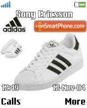 Adidas schuhe Dising theme screenshot