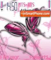 Abst Butterfly theme screenshot