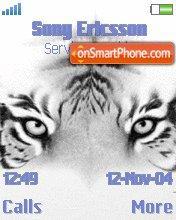 Tigers Eyes es el tema de pantalla