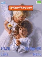 Adorable Angels es el tema de pantalla