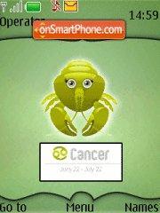 Cancer 01 tema screenshot