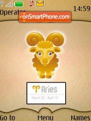 Aries 03 tema screenshot