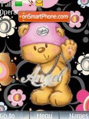 Funky Bear theme screenshot