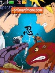 Sasuke vs Naruto theme screenshot