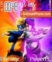 Narutosasuke theme screenshot
