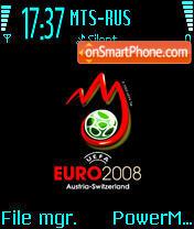Euro 2008 Black theme screenshot