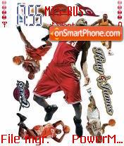 Скриншот темы Basketball Theme