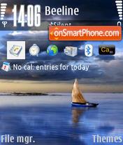 Скриншот темы Sailing 01
