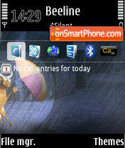 Cow Theme S60 3rdEd theme screenshot