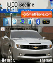 Camaro 71 theme screenshot