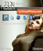 Скриншот темы Scarlett Johansson 07