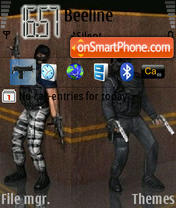 Counterstrike 02 theme screenshot