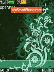 Green Abstract theme screenshot