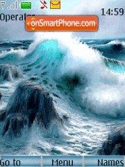 Oceans Foam tema screenshot