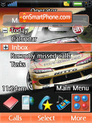 Formula Drift theme screenshot