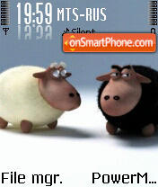 2 Sheeps theme screenshot