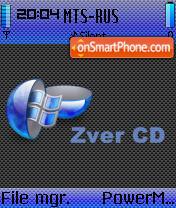 Zver CD es el tema de pantalla