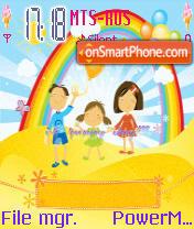 Happy Family Animated es el tema de pantalla