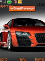 Audi R8 Carbon theme screenshot