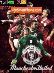 Manchester Utd theme screenshot