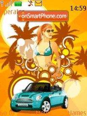 Summer Biny tema screenshot