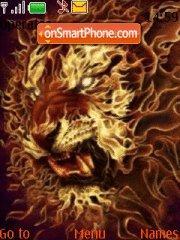 The Real Tiger tema screenshot