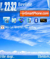 Sky 04 theme screenshot