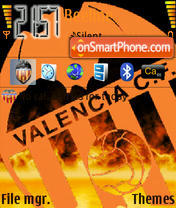 Valencia Cf 02 theme screenshot
