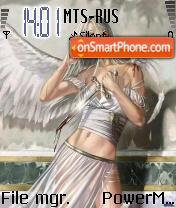 The Fallen Angel es el tema de pantalla