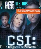 CSI Las Vegas es el tema de pantalla