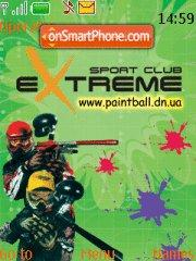 Paintball - 1 theme screenshot