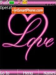 Love You es el tema de pantalla