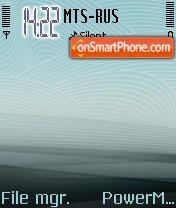 Lines theme screenshot