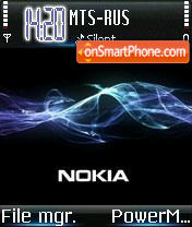 Nokia Wave 2 theme screenshot